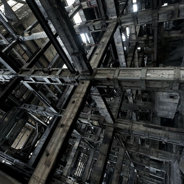 steel and wood: Style Photography, Beams, The Matrix, Photography Art, Factories, Architecture Structure Design, Favorite Photographers, Photography Inspiration, Romani Wg