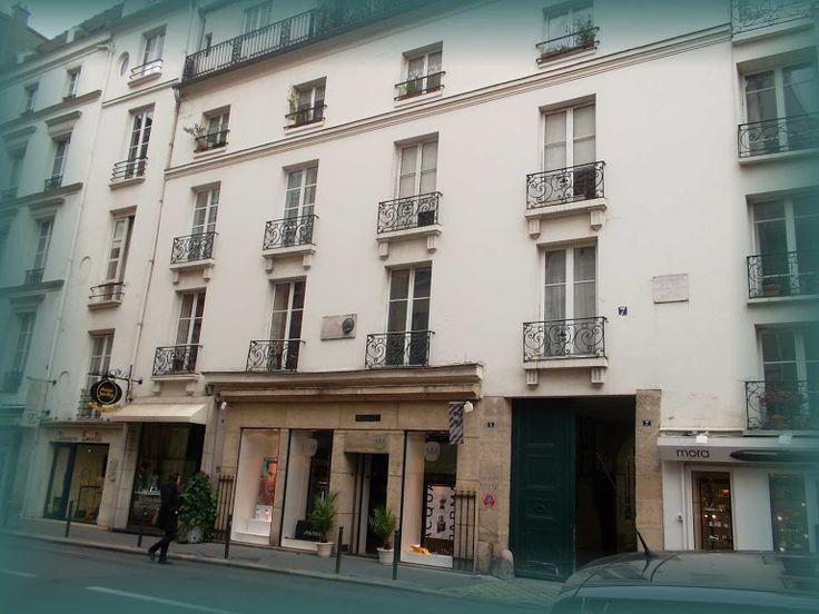 Paris, 5. rue de Tournon * House of Mlle Lenormand * Hungarian Sibyls in Paris, remembering mlle Lenormand, esoteric Tour * www.lenormand.hu