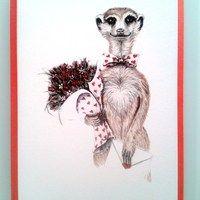 mr meerkat with flowers 2