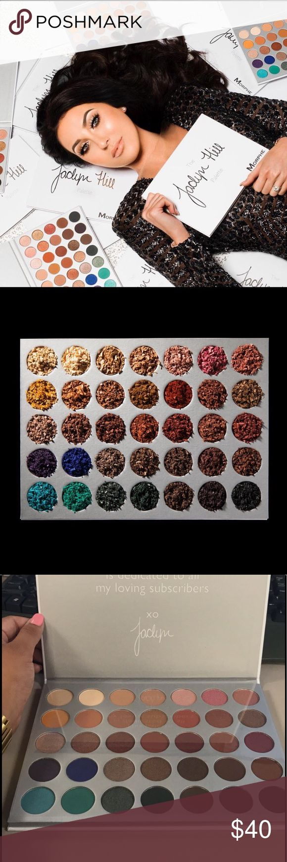 Jaclyn Hill Morphe Palette ✨Authentic Jaclyn Hill Morphe Palette. Launching 6-21-17✨ morphe Makeup Eyeshadow
