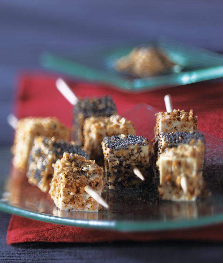 Retrouver la recette des cubes de tofu au sésame, pour un apéritif réussi ! - Editions La Plage