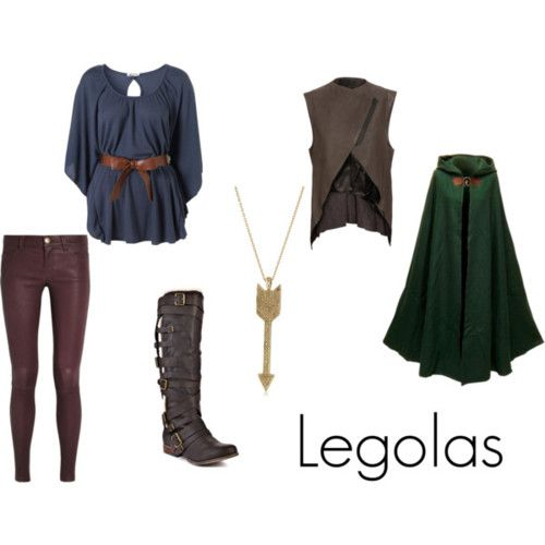Legolas from J.R.R. Tolkien'sThe Lord of the Rings  I may have a tiny obsession with these LotR inspired outfits...