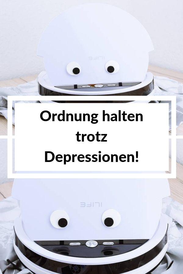 Haushaltshelfer bei Depressionen – Saugroboter V4 von ILife