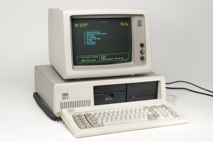 80s ibm personal computer the first computer i ever used