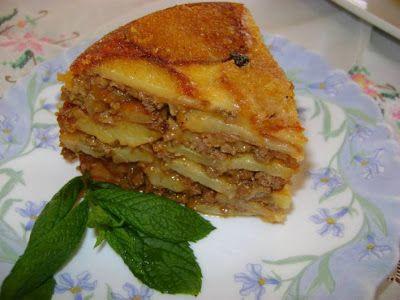H μάνα του ... λόχου: Πατάτες με κιμά τιμπάλ