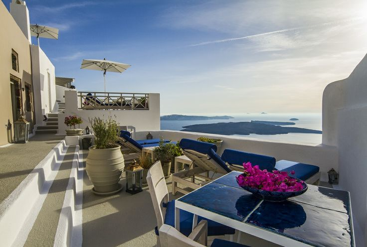 Enjoy utmost serenity in the tranquil and residential surroundings at Iconic Santorini, a boutique cave hotel...
