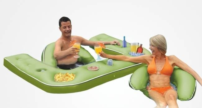 Inflatable Floating Party Bar, $44.15