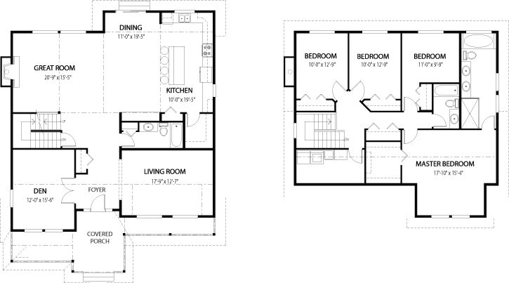 I LOVE This Floor Plan Because: Laundry Room, 4 Bedrooms