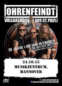 Ohrenfeindt, Double Crush Syndrome 24.10.15 Musikzentrum, Hannover   Metalunderground