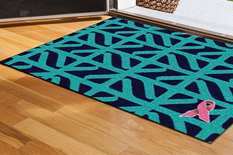 Designer Inspired: Welcome Mat by April Force  Pardoe