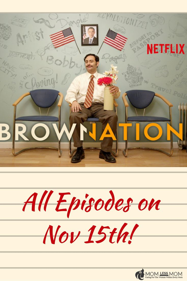 Brown Nation, the first trans-cultural show of its kind streams on Netflix on November 15th! Don't forget to tune in! #netflix