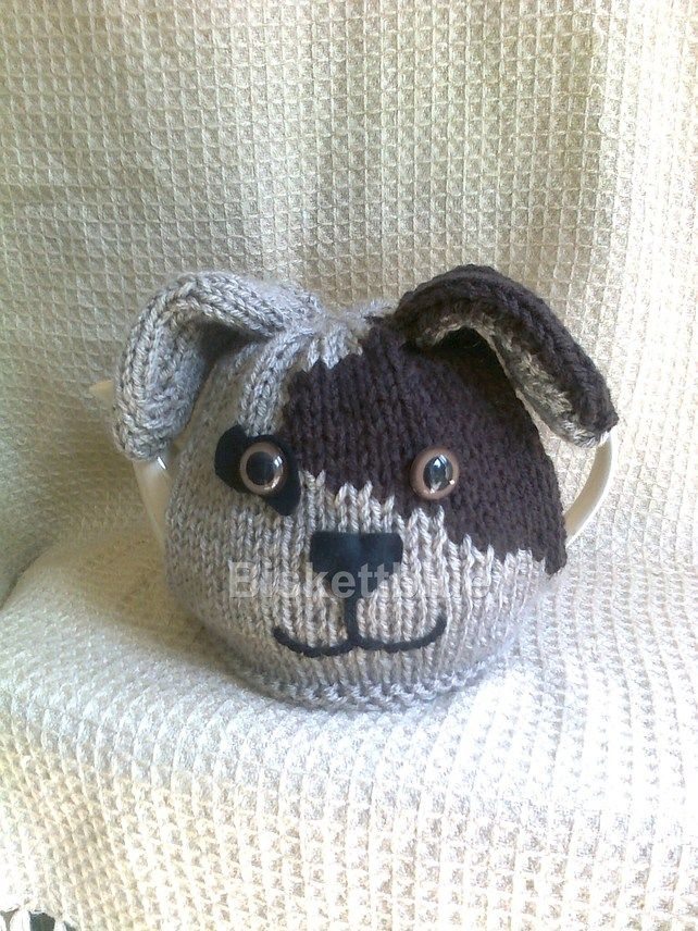 PATCH the Dog Tea Cosy. Adorable!!!