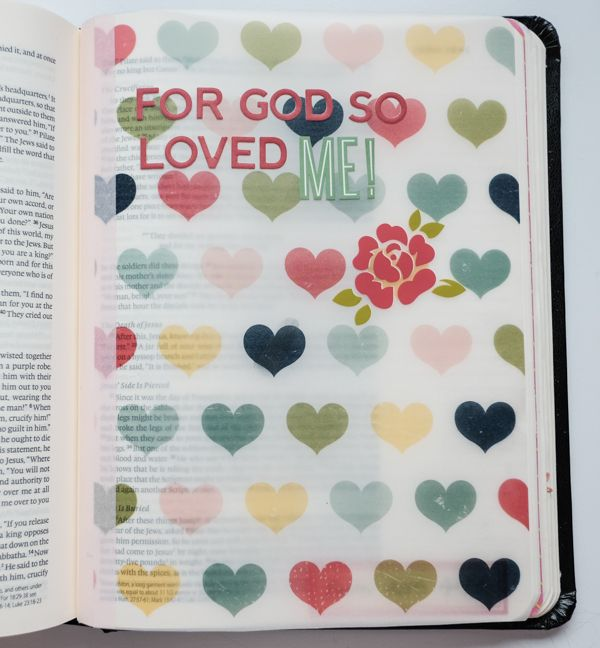Debby Schuh | Adding Color To Your Bible with Overlays