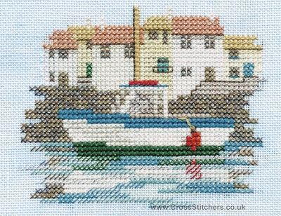 Harbour - Minuets - Cross Stitch Kit from Derwentwater Designs