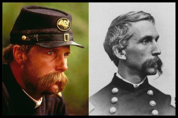 Jeff Daniels as Colonel Joshua Chamberlain in Gettysburg