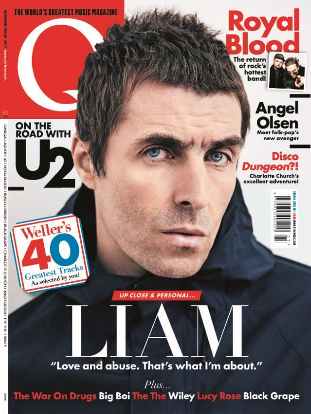 """In this issue:    UP CLOSE & PERSONAL... LIAM GALLAGHER """"Love and abuse. That's what I'm about.""""    On the road with U2    Royal Blood: The return of rock's hottest band!    Angel Olsen: Meet folk-pop's new avenger    Disco Dungeon?! Charlotte Church's excellent adventure!    Plus... The War On Drugs, Big Boi, The The, Wiley, Lucy Rose, Black Grape"""