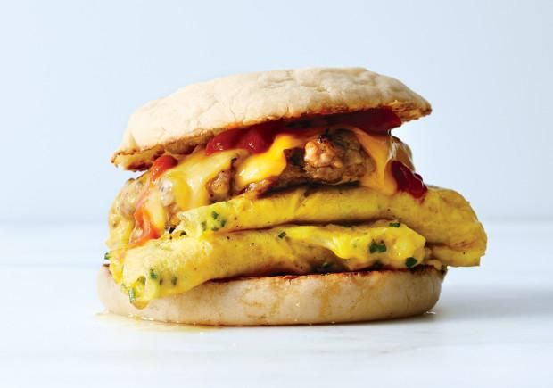 Start Your Day With Our Ultimate Breakfast Sandwich and Have the Best Morning Ever via Bon Appetit
