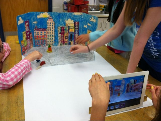 Organized Chaos: 1-5th Grades -- Stop Motion Animation (Week 1)