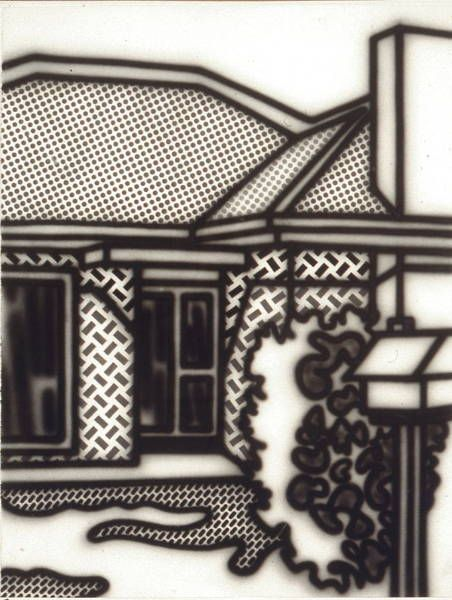 Howard Arkley Letter-box Home 1995 [W_P]#35CE