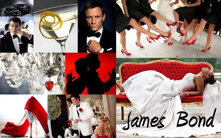 Wedding theme James Bond | Nozza wedding & event design