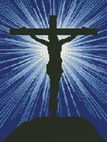Christian Cross Stitch. New Free Christian Cross Stitch Pattern added every Friday.
