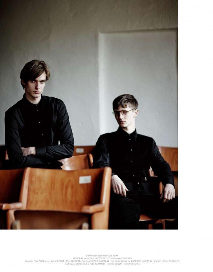 Duco Ferwerda & Nicolas Hagius are Pensive Spirits for The Greatest
