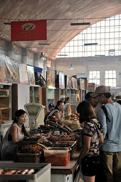 Black Market, Ulaanbaatar, Mongolia. The market is notorious for pickpockets and bag slashers, so don't bring anything you can't afford to lose. Don't carry anything on your back, and strap your money belt to your body. Naran Tuul is definitely worth a visit, just be careful. (V)