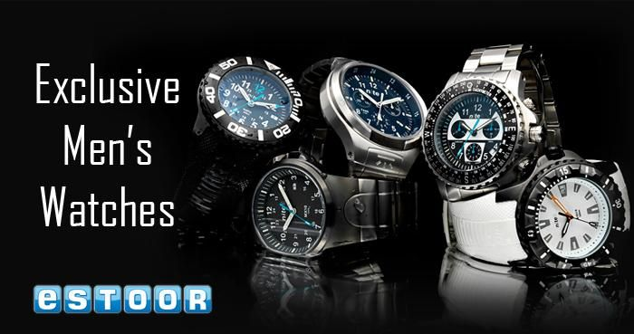 Fabulous & Fashionable watches @ http://eSTOOR.com......