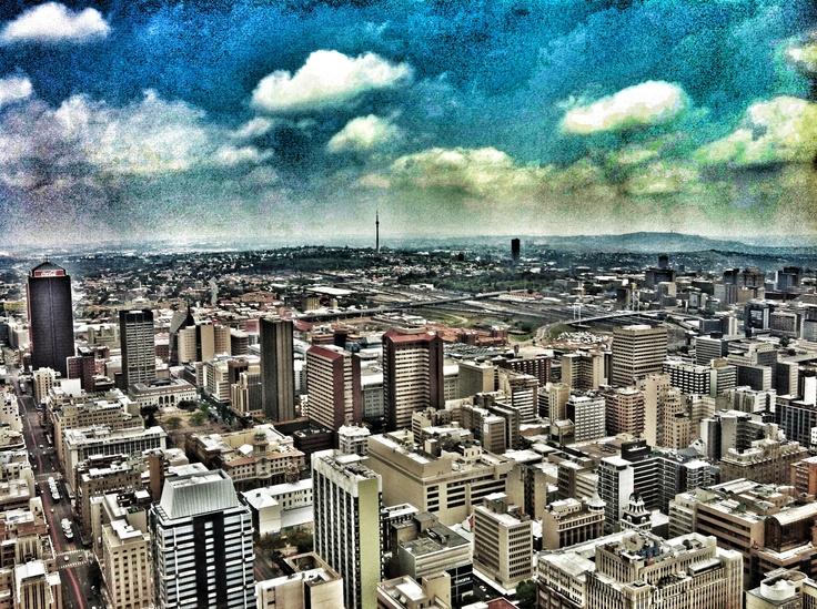 Jozi skyline