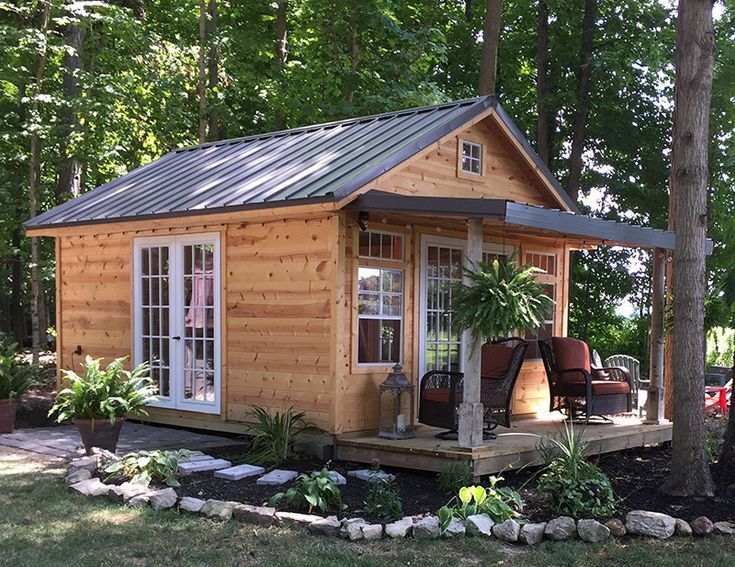 Garden Shed With Porch Backyard Sheds Little Gardens Modern Garden Design Gardening Garden Design L In 2020 Shed With Porch Backyard Sheds Shed Design