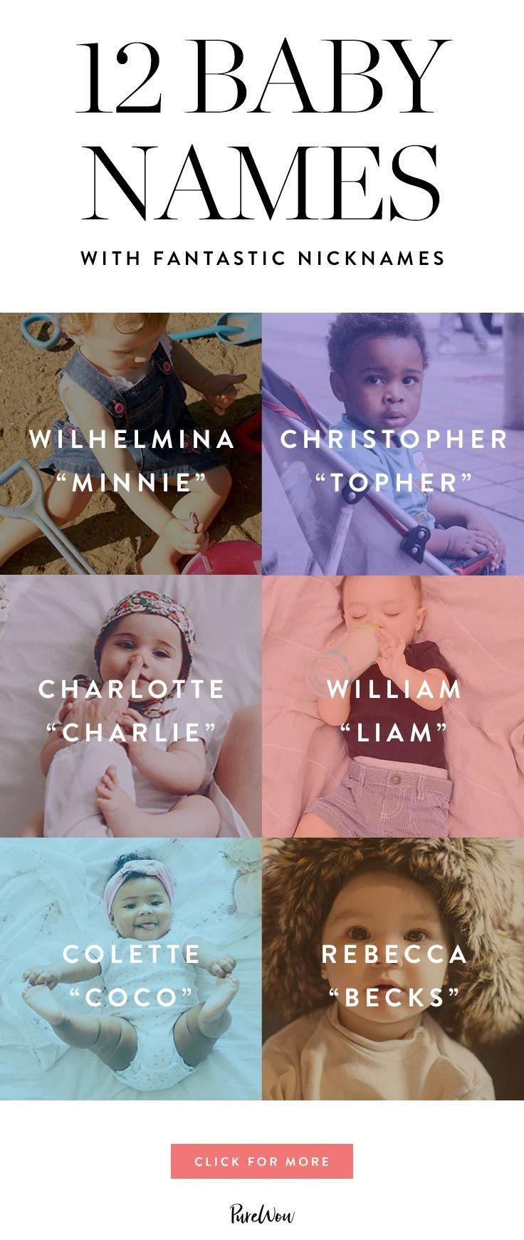 12 babynamen met fantastische bijnamen