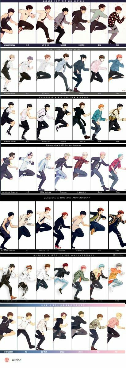 3 years with BTS FANART