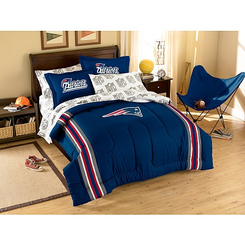 Patriots Bed Pats At Home Patriots Bedding Nfl New