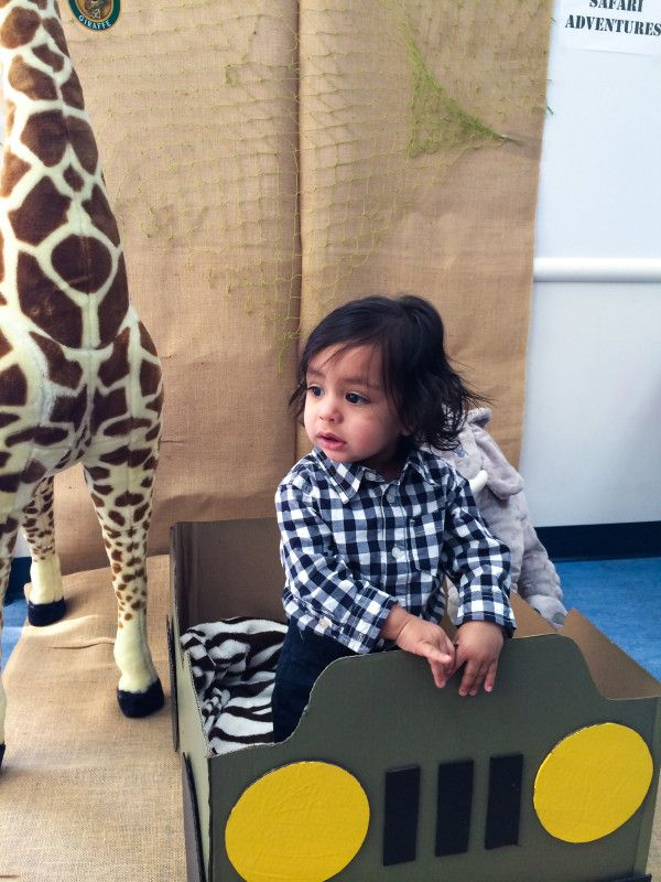 Jungle Safari themed first birthday party!