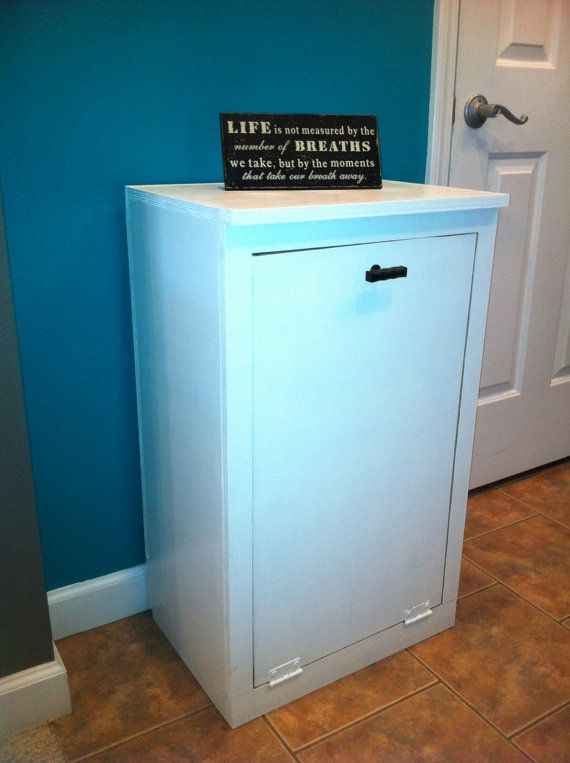 Clothes Hamper Waste Trash Bin Storage By
