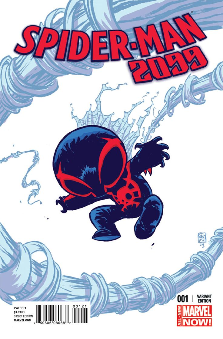 Preview: Spider-Man 2099 #1, Page 1 of 9 - Comic Book Resources