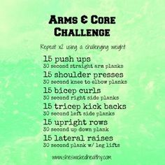 wedding arms and abs workout - Google Search
