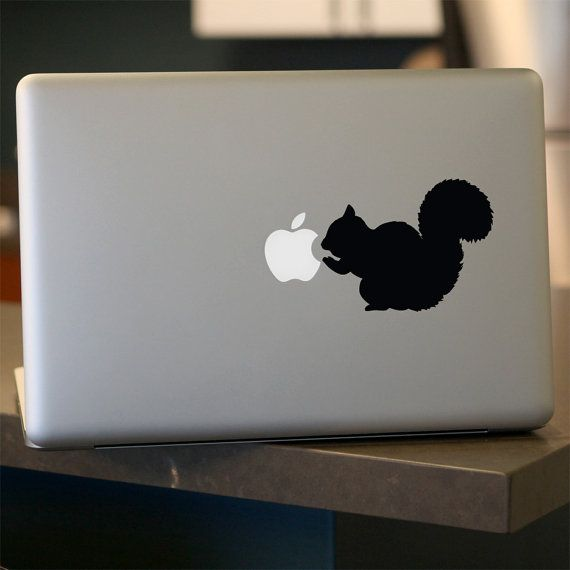 Squirrel Decal - Vinyl Sticker - For Car, Window, Laptop, Wall , Brown, Grizzly on Etsy, $6.95