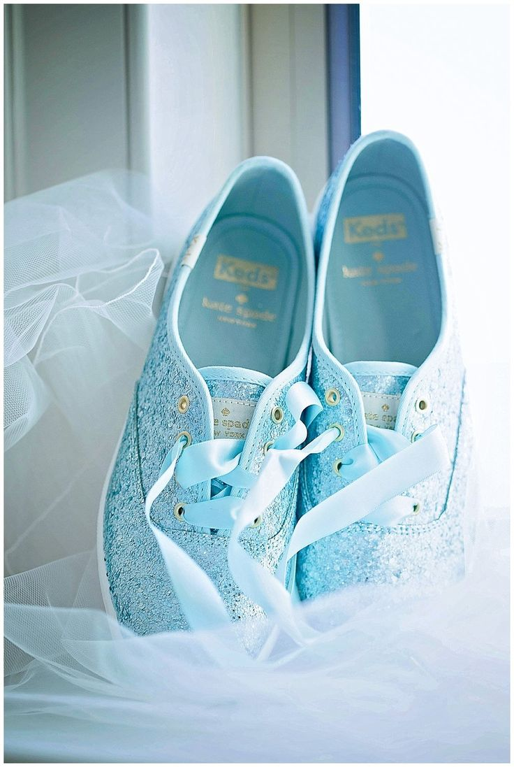 Kate Spade Keds, Blue glitter keds, bridal keds, Kate Spade, bridal shoes, bridal sneakers. http://www.cardinalrosephotography.com