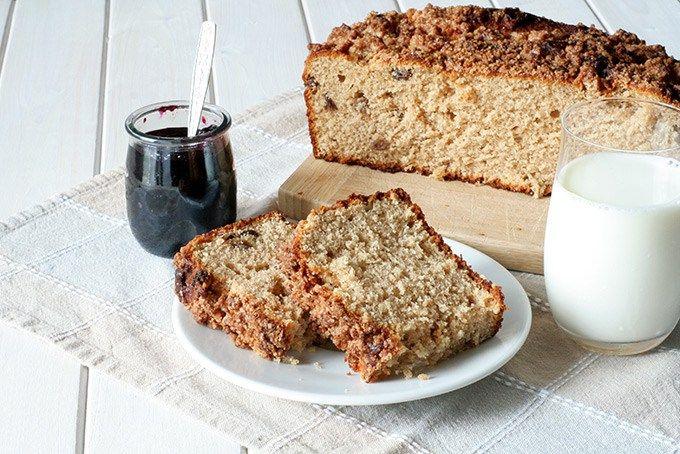 Ciasto drożdżowe z kruszonką - najprostszy przepis ever! - SmakUla