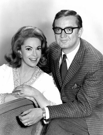 Jayne Meadows and Steve Allen, 1964. I always thought this was a very odd couple, but who knows what attracts one person to another?