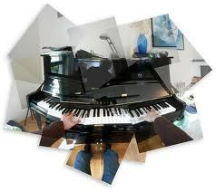 Piano photomontage