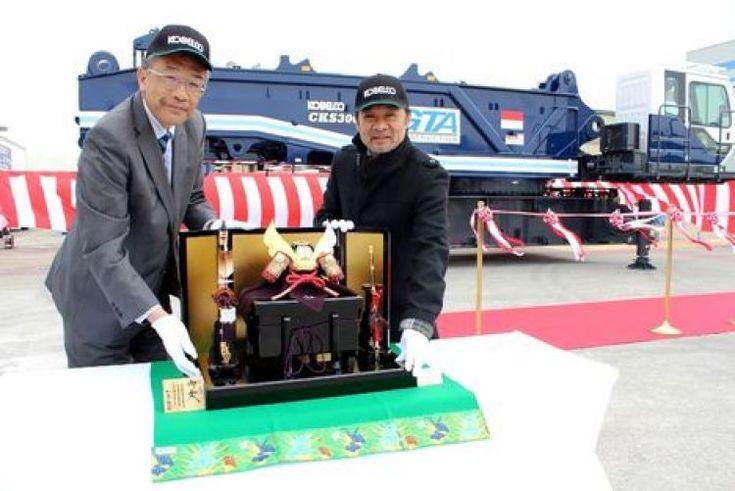 Kobelco delivers first 300 tonne crawler crane