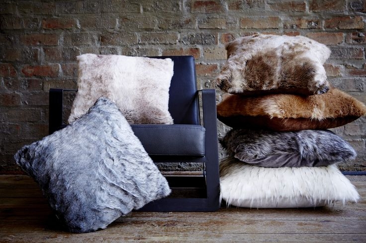 Nothing is more inviting than the plush softness of faux fur. Embrace the comfort and warmth of faux fur cushion while bringing a cosy mood to your space. #AddWarmth