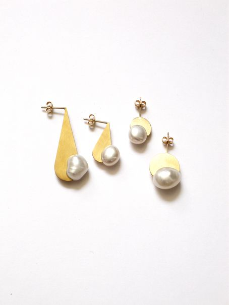 ORGA drop earrings