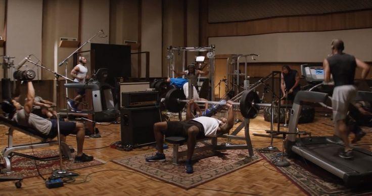 Gillette : une publicité avec le son des joueurs de la NFL dans une salle de musuculation