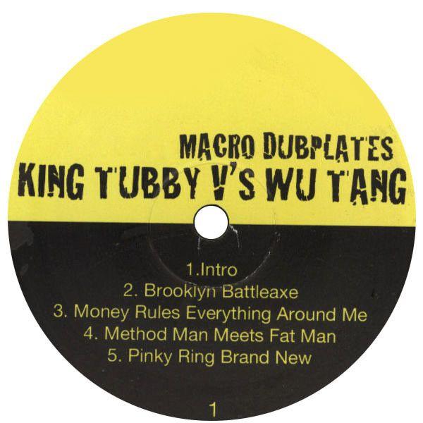Wu-Tang Clan: King Tubby vs Wu-Tang: Macro Dubplates LP | TurntableLab.com
