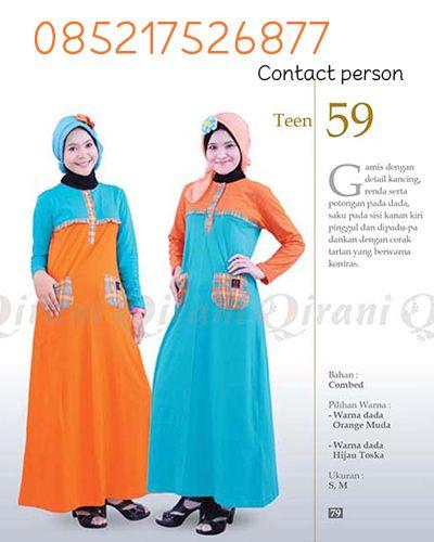 Qirani Teens 59    Yayuk CS Qirani : SMS/Telp: 0852 1752 6877 Whatsapp: +6285217526877 BBM: D01CB842
