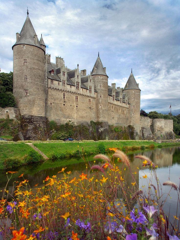 Josselin Castle, Morbihan, Bretagne