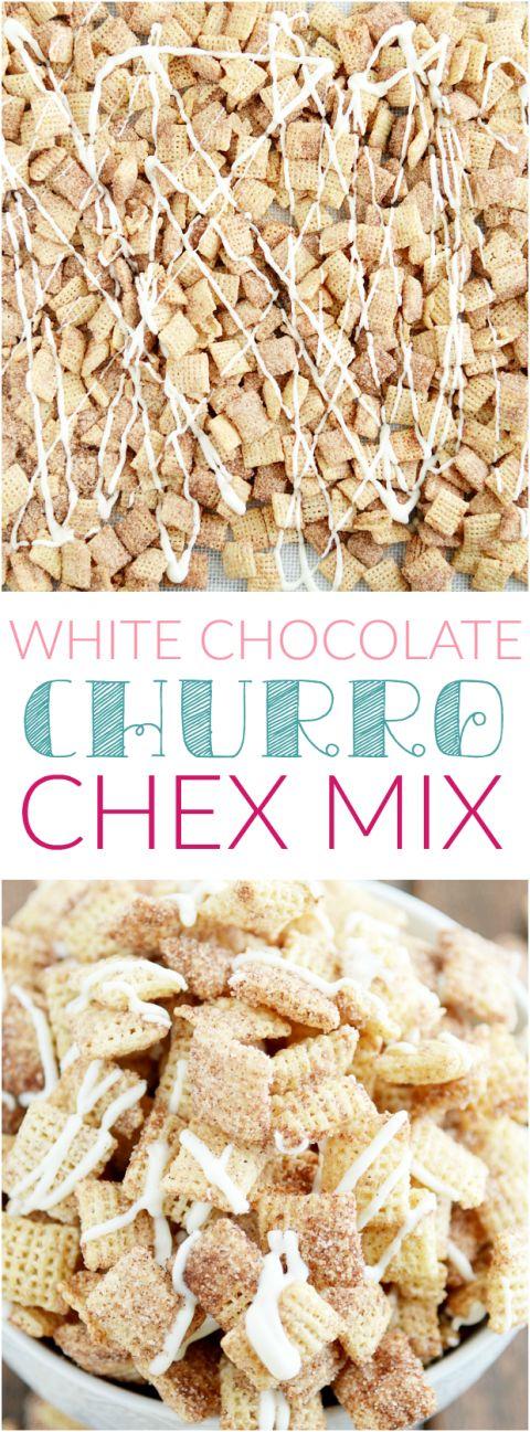 White Chocolate Churro Chex Mix